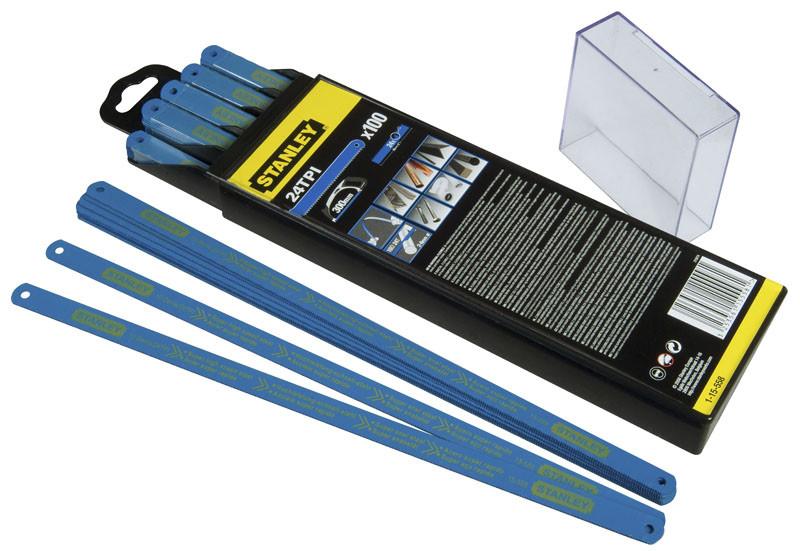 "Полотно ""Laser"" для ножівки по металу біметалічне гнучке 2-15-558 - STANLEY"
