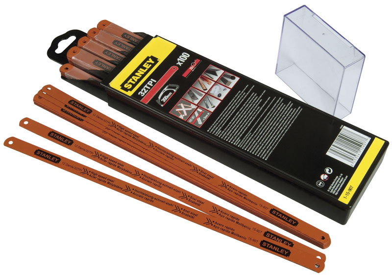 """Полотно """"Rubis"""" для ножовки по металлу молибденовое жесткое 2-15-906 - STANLEY"""