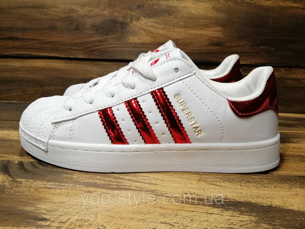 b3a0fd816 Кроссовки женские Adidas Superstar (реплика) 0003 - Интернет магазин