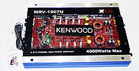 Автомобильный усилитель звука Kenwood MRV-1907U 4000Вт USB Прозрачный корпус, фото 4