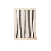 СИГНЕ Ковер, безворсовый, бежевый, серо-коричневый, 55x85 см 002973608 ИКЕА, IKEA, SIGNE