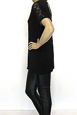 Жіноча літня футболка, великі розміри, фото 3