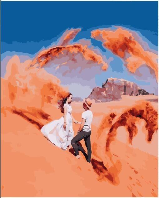 """Картина по номерам """"Они в стихии песков"""""""