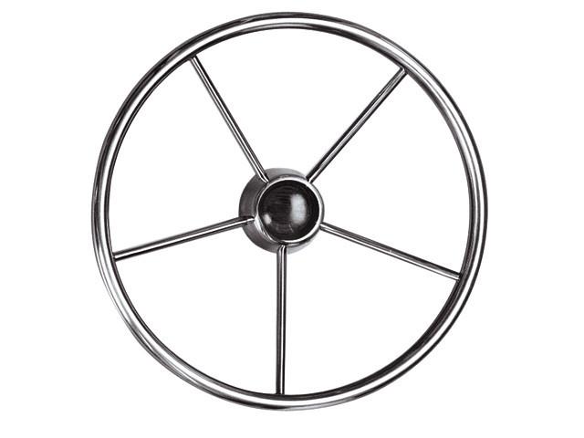 Рульове колесо з нержавіючої сталі ULTRAFLEX Anti 400 мм