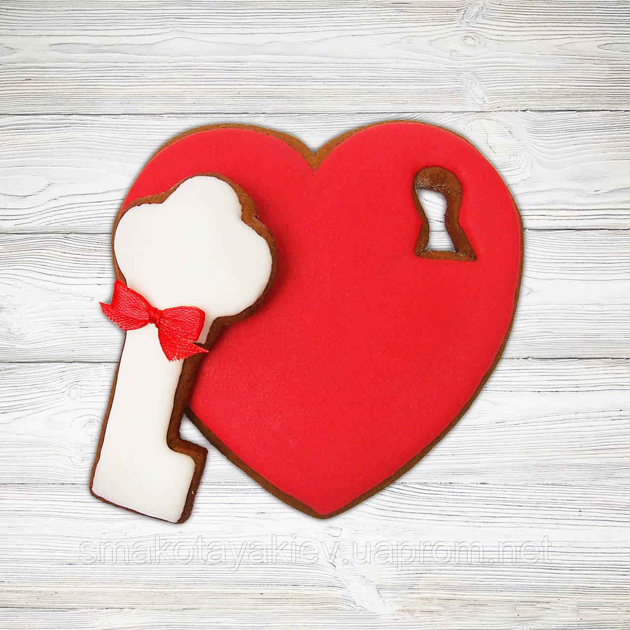 "Пряничный набор ""Ключ от сердца"""