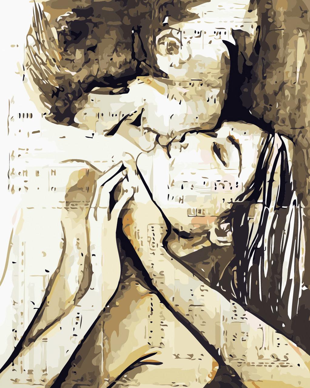 Художественный творческий набор, картина по номерам Песня любви, 40x50 см, «Art Story» (AS0431)