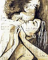Художественный творческий набор, картина по номерам Песня любви, 40x50 см, «Art Story» (AS0431), фото 1