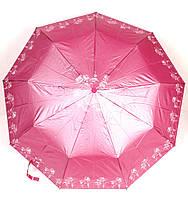 Зонт женский полуавтомат 3 сложения серебряное напыление Lantana, фото 1