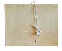 ✅ Инфракрасная подставка с обогревом QSB 100W, деревянный обогреватель, с доставкой по Киеву и Украине