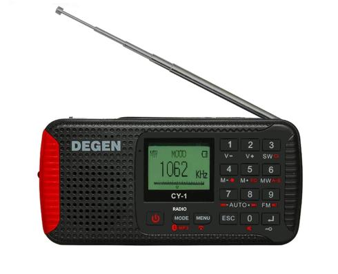 Emergency радіоприймач Degen CY-1