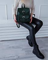 Молодежный рюкзак зеленого цвета АРТ. 03, фото 1