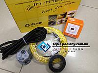 Тонкий обогревательный кабель для теплого пола(комплект с цифровым термостатом) 2.2 м.кв.