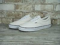 Кеды Vans Era (ванс) реплика AAA+ размер 36,38 белый (живые фото), фото 1