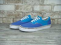 Кеды Vans Era (ванс) реплика AAA+ размер 38,40 синий (живые фото), фото 1