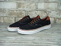 Кеды Vans Era (ванс) реплика AAA+ размер 40-45 черный (живые фото)