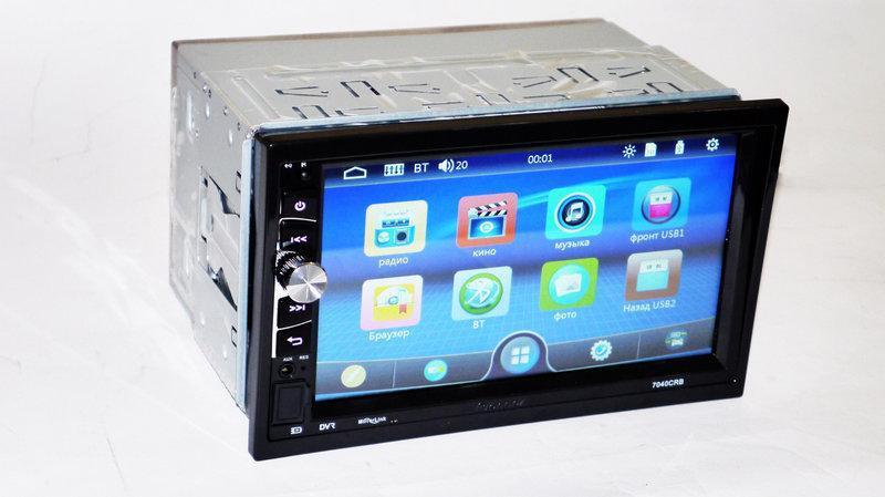 Автомагнітола 2Din Pioneer 7040CRB USB,SD, Video + ПУЛЬТ НА КЕРМО+можливість підключення камери