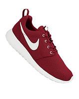 Кроссовки Nike Roshe Run реплика ААА+ размер 36-37 красный