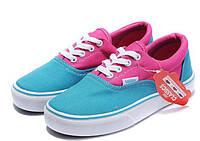 Кеды Vans Era (ванс) реплика AAA+ размер 37-41 розовый