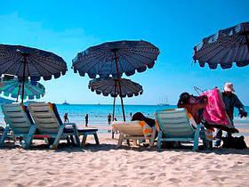 Зонты садовые и пляжные
