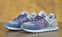 Кроссовки New Balance размер 37 светло-синий (реплика), фото 1