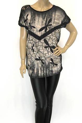 жіноча  футболка з принтом стрикороза, фото 2