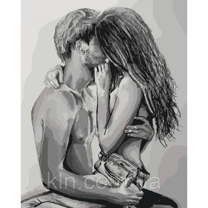 Картина по номерам Настоящие чувства (арт. КН2691) 40 х 50 см