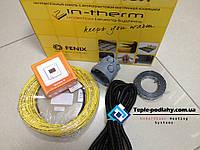 Тонкий обогревательный кабель для пола (комплект с цифровым термостатом) 2.7 м.кв., фото 1