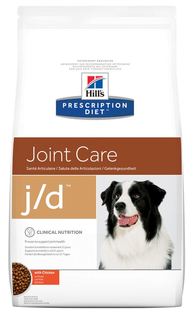 Лечебный корм для собак при артирите Hills Diet j/d