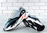 Кроссовки Adidas Yeezy Boost 700 реплика ААА+, размер 36-44 серый (живые фото)