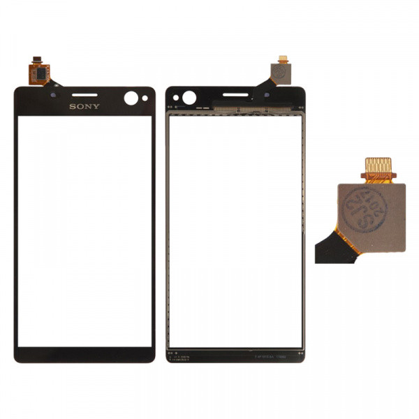 Тачскрин для Sony E5333 Xperia C4 Dual Sim/E5343/E5353/E5363/E5303/E5306, черный Оригинал