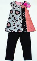 Замечательный костюм для девочки 3- 4 года
