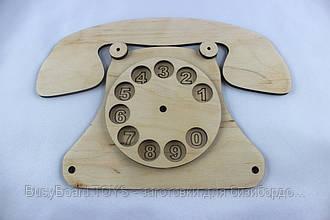 Элемент бизиборда Телефон дисковый.