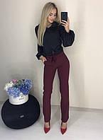 Классические брюки с поясом