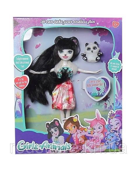 Куклы Enchantimals Энчантималс с питомцем