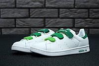Кроссовки Adidas Stan Smith реплика размер 39-40 белые