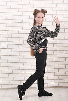 Костюм детский Татьяна Филатова модель 167  милитари