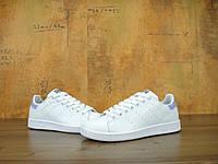 Кроссовки Adidas Stan Smith реплика (натуральная кожа) размер 36 белый