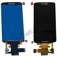 LCD Дисплей+сенсор Motorola XT1561 Moto X Play/XT1562//XT1563/XT1564, черный