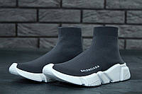 Кроссовки Balenciaga Speed Trainer реплика ААА+ размер 42,44 серый, фото 1