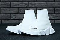 Кроссовки Balenciaga Speed Trainer реплика ААА+ размер 40 белый