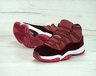 Кроссовки Nike Air Jordan реплика ААА+ размер 40 красный, фото 1