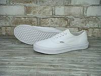 Кеды Vans Era (ванс) реплика AAA+ размер 36-39 белый (живые фото), фото 1