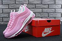 64803a15 Кроссовки женские Nike Air Max 97 реплика ААА+ размер 36-40 розовый (живые