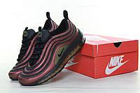 Кроссовки мужские Nike Air Max 97 реплика ААА+ размер 41-42,44 красный (живые фото), фото 1