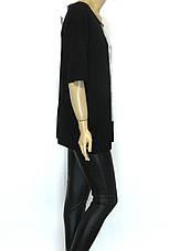 Жіноча футболка  великого розміру з принтом Giuseppe Zanotti, фото 3