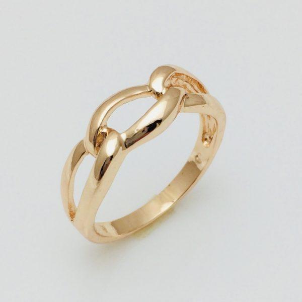 Кольцо на палец Колечки, размер 15, 16, 17, 18, 19, 20