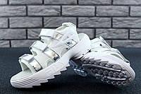 Сандали FILA Disruptor Sandals реплика ААА+ размер 37-40 белый/серебро (живые фото), фото 1