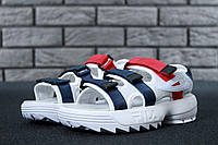 Сандали FILA Disruptor Sandals реплика ААА+ размер 36-44 белый (живые фото), фото 1