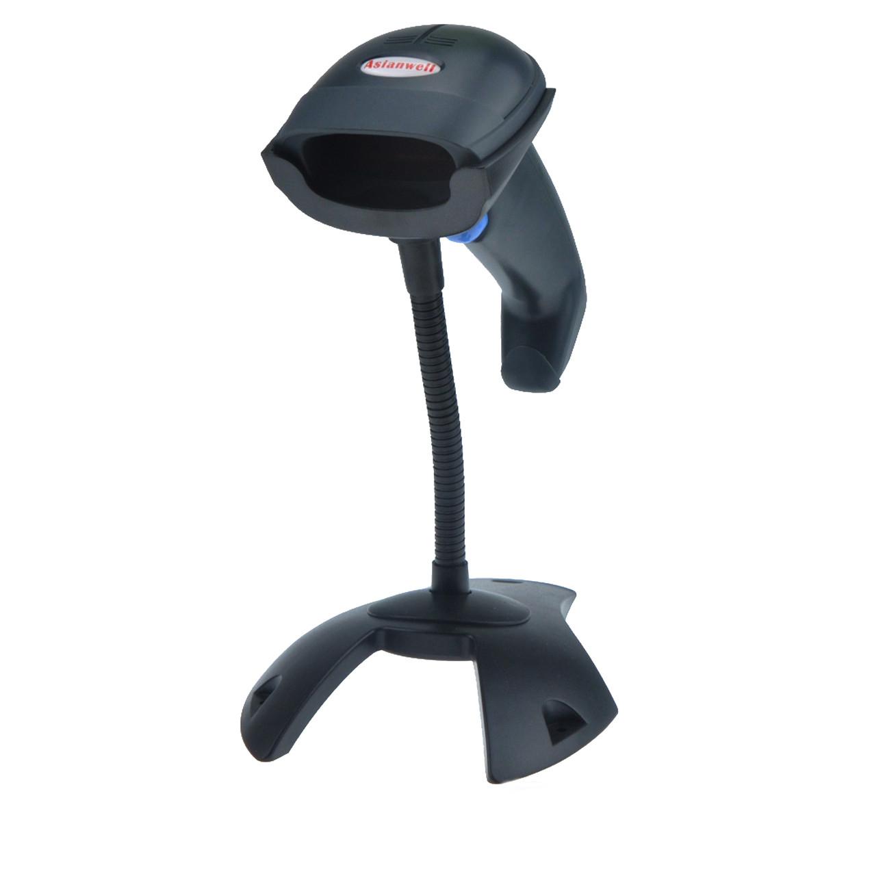 Cканер штрих-кода проводной Asianwell AW-2055 чёрный (AW-2055)