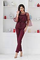 Женский костюм - тройка НВ467, фото 1